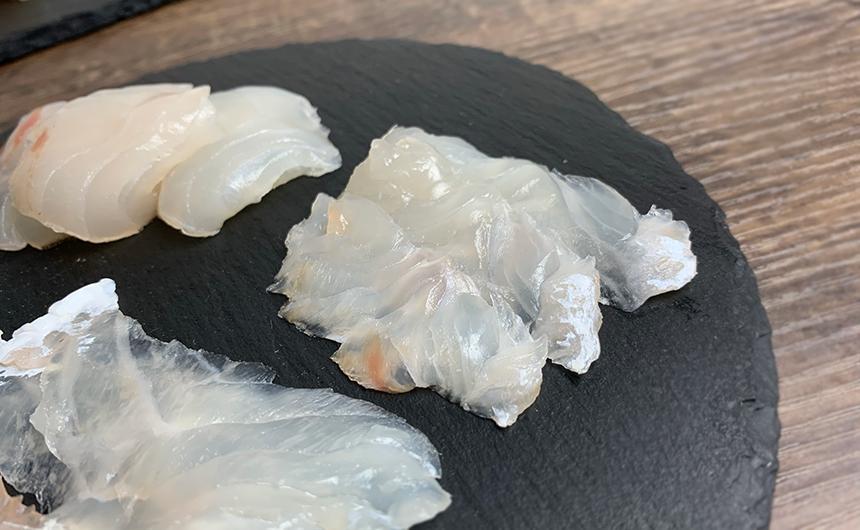 津本式熟成真鯛 刺身