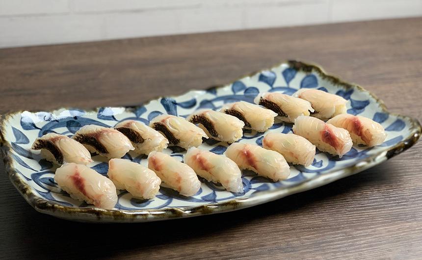 黒目鯛 寿司